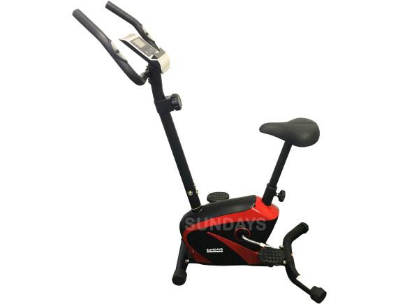 Велотренажер Sundays Fitness K8309-6 (черный/красный)