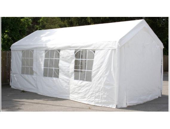 3x6м, 36201W, тент-шатер ПВХ, цвет  белый