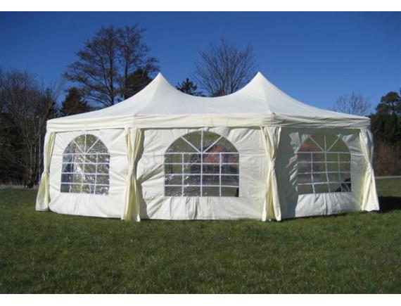 6.8x5м, PA58301, полюсный тент-шатер Sundays, полиэстер с покрытием, бежевый