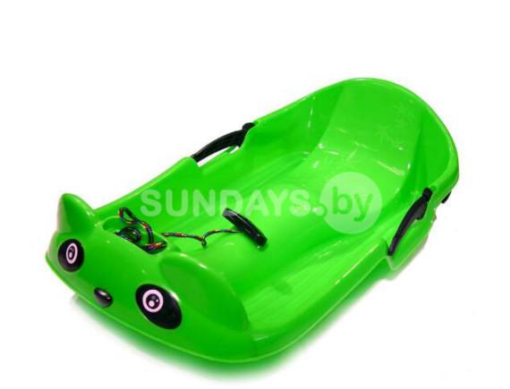 Санки-ледянка Sundays PLC006 (зеленый)