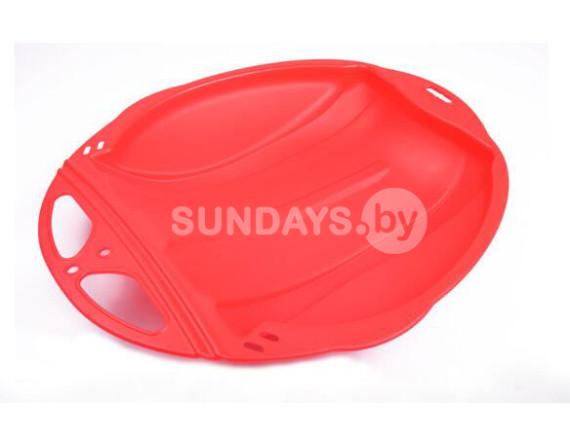 Санки-ледянка Sundays PLC008 (красный)