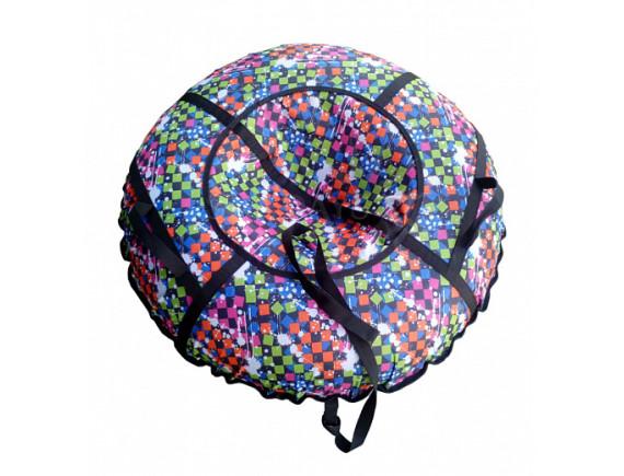 """Санки-ватрушка ATEMI """"Дизайн"""" 107см. (сумка) с молнией"""