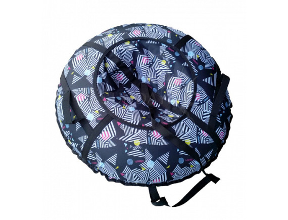 """Санки-ватрушка ATEMI """"Дизайн"""" 90см. (сумка) с молнией"""