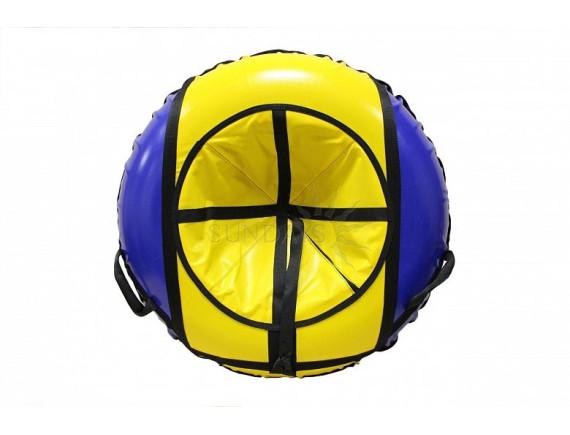 Тюбинг VATRUSHKA S-VT-100 сине-жёлтый
