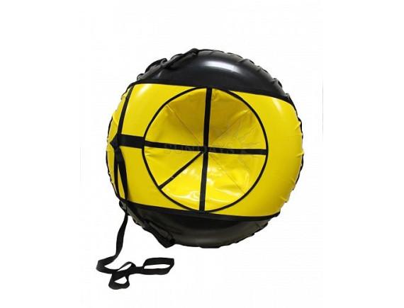 Тюбинг VATRUSHKA S-VT-110 жёлто-чёрный