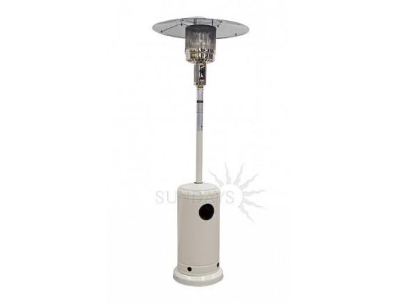 Уличный инфракрасный газовый обогреватель PH01-S (цвет белый)
