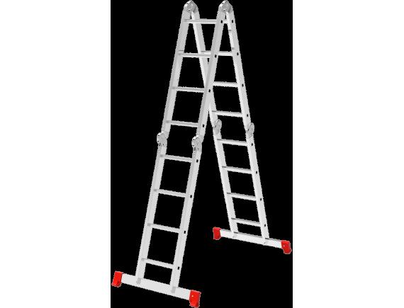 Четырехсекционная лестница-трансформер Новая Высота (4x5)