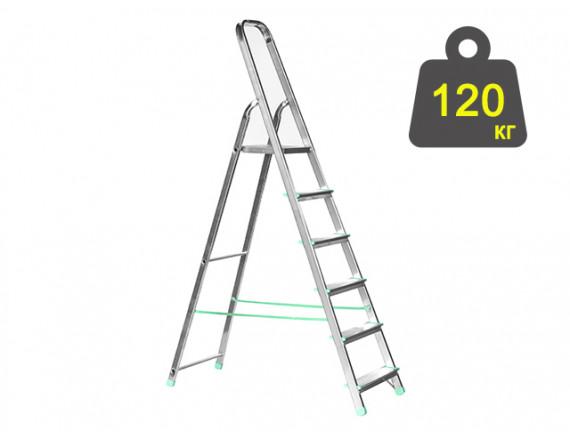 Лестница-стремянка алюминиевая iTOSS Eurostyl 119 см (2916)