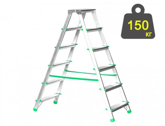 Лестница-стремянка алюминиевая iTOSS Eurostyl 121 см (1926)