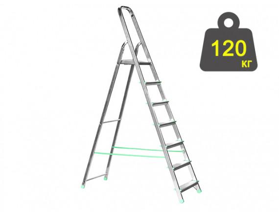 Лестница-стремянка алюминиевая iTOSS Eurostyl 140 см (2917)