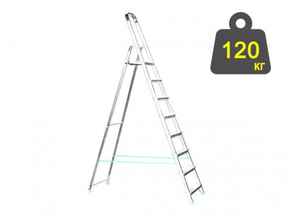 Лестница-стремянка алюминиевая iTOSS Eurostyl 162 см (2918)