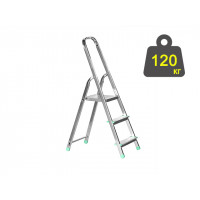 Лестница-стремянка алюминиевая iTOSS Eurostyl 55 см (2913)