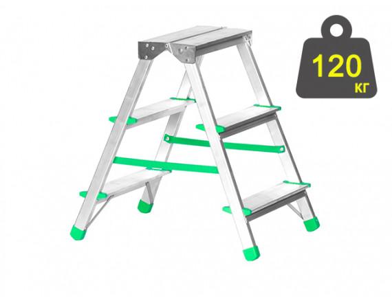Лестница-стремянка алюминиевая iTOSS Eurostyl 56 см (2923)