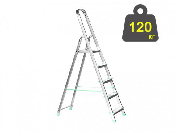 Лестница-стремянка алюминиевая iTOSS Eurostyl 98 см (2915)