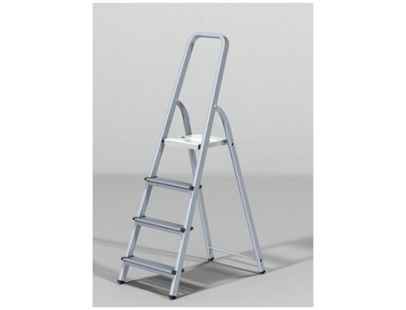 Лестница-стремянка алюминиевая STARTUL PRO (81см)