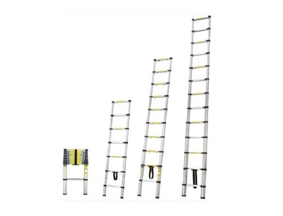 Лестница телескопическая 1-секционная STARTUL (380 см., 13 ступеней)