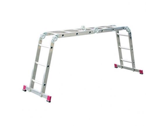 Лестница-стремянка трансформер алюминиевая KRAUSE Corda 4x4 ступени