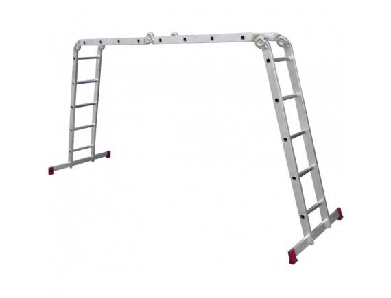 Лестница-стремянка трансформер алюминиевая KRAUSE Corda 4x5 ступеней