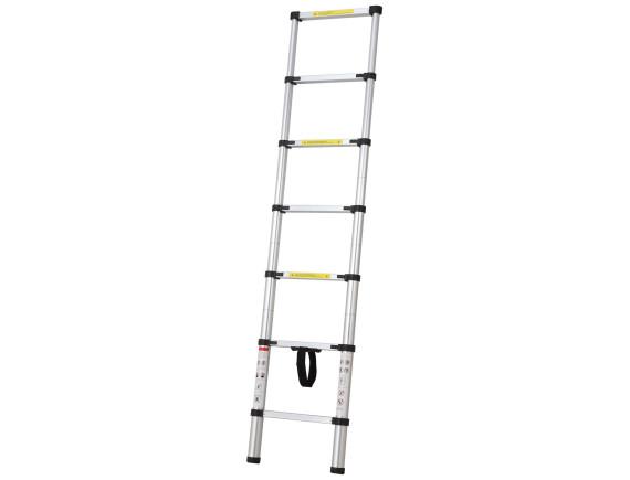 Лестница телескопическая алюминиевая 1-секционная STARTUL (260см)