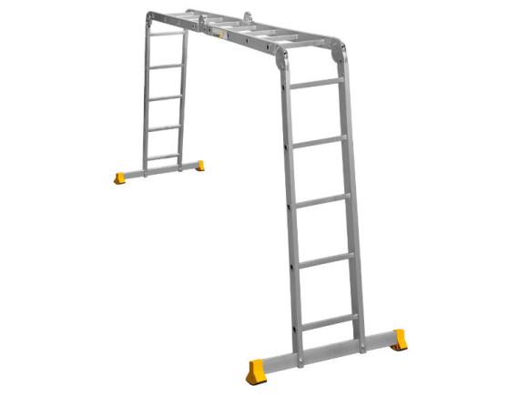 Лестница-трансформер шарнирная Алюмет 2x4 + 2x5 (Т445)