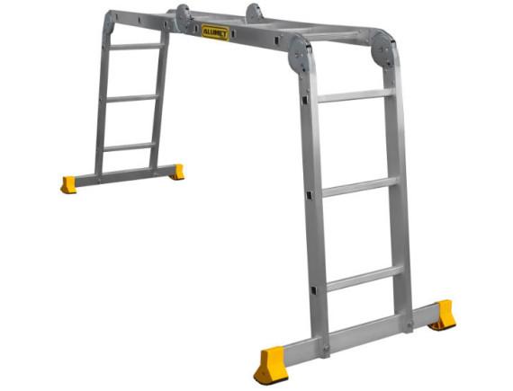 Лестница-трансформер шарнирная Алюмет 4х3 (Т433)
