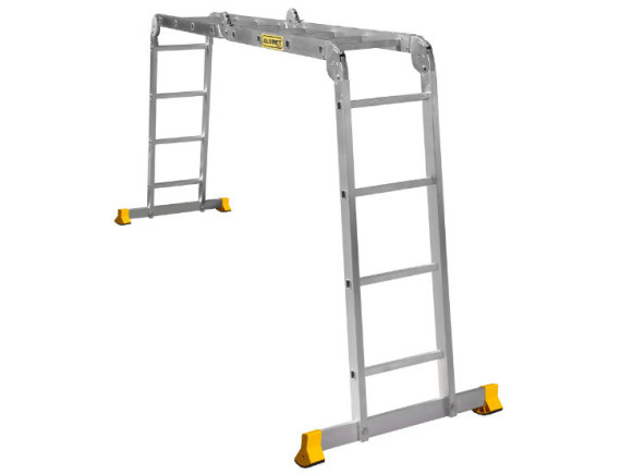 Лестница-трансформер шарнирная Алюмет 4х4 (Т444)
