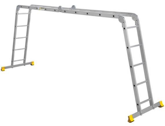 Лестница-трансформер шарнирная Алюмет 4х5 (Т455)