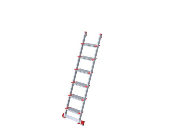 Лестница алюминиевая приставная Новая высота (6 ступеней)