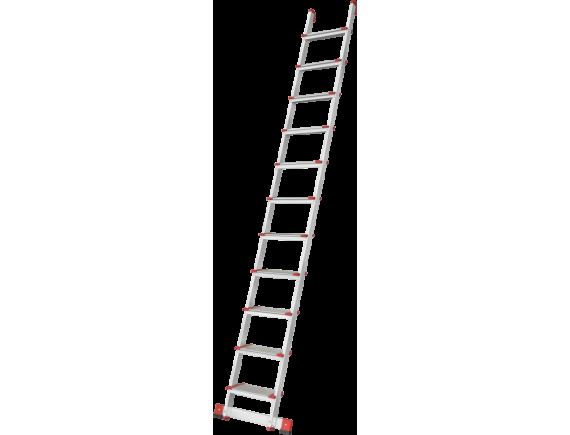 Лестница алюминиевая приставная Новая высота (10 ступеней)