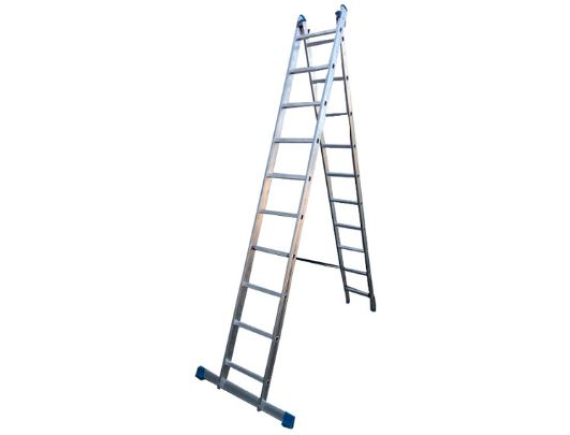 Лестница двухсекционная профессиональная Tarko (2х10 ступеней)