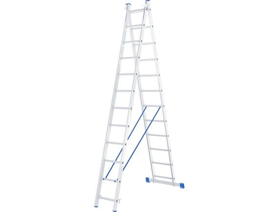 Лестница двухсекционная профессиональная Tarko (2х12 ступеней)