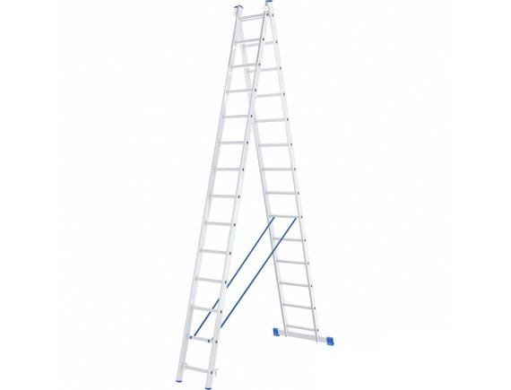 Лестница двухсекционная Tarko (2х13 ступеней)