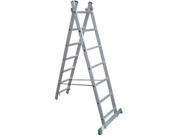 Лестница двухсекционная профессиональная Tarko (2х8 ступеней)