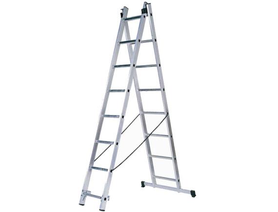 Лестница двухсекционная Tarko (2х7 ступеней)