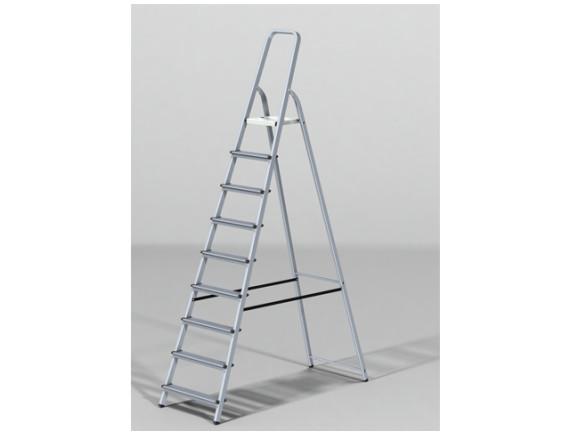 Лестница-стремянка алюминиевая STARTUL PRO (191 см)