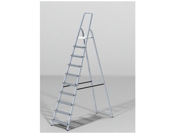 Лестница-стремянка алюминиевая STARTUL PRO (213 см)
