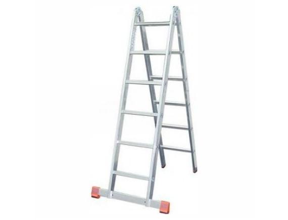 Лестница-трансформер двухсекционная Tarko (2х5 ступеней)