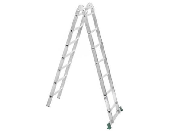 Лестница-трансформер двухсекционная Tarko (2х10 ступеней)