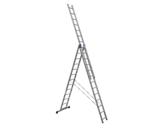 Лестница трехсекционная профессиональная Tarko (3х12 ступеней)