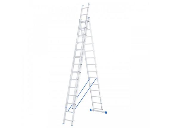 Лестница трехсекционная профессиональная Tarko (3х14 ступеней)