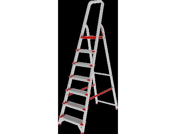 Стремянка алюминиевая NV500 Новая Высота (7 ступ.)