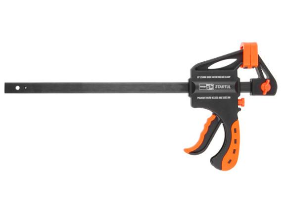 Струбцина пистолетная STARTUL PROFI 250 мм (глубина зажима 60мм) (ST9015-25)
