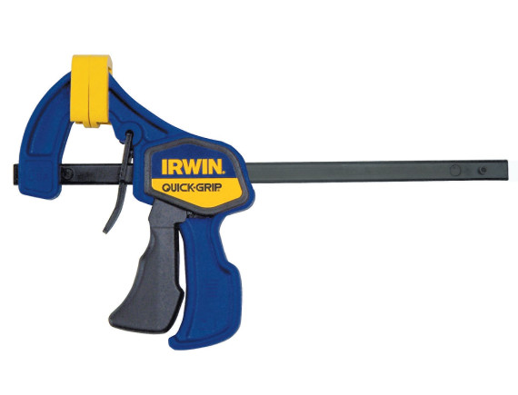 Струбцина Irwin Quick-Grip. Максимальное сжатие 63 кг