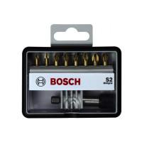 Набор бит Bosch Robust Line + держатель Bosch Max Grip S2