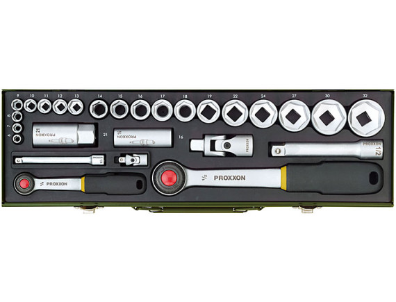 Набор торцевых головок для автомобилиста Proxxon Industrial (27 штук)
