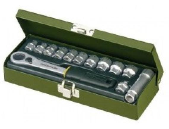 Наборы сквозных торцевых головок для мастерских Proxxon Industrial (13 и 14 штук)