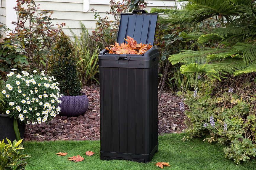 Контейнер для мусора с крышкой