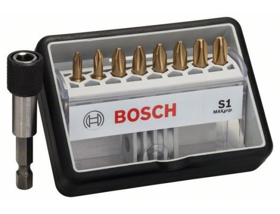 Набор бит Bosch Robust Line + держатель Bosch Max Grip S1