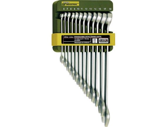 Набор комбинированных ключей Proxxon Industrial Slim line (12 штук)