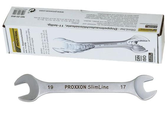 Набор рожковых ключей Proxxon Industrial Slim line (11 штук)